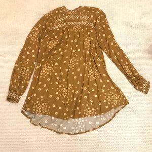 Free People Tunic worn once